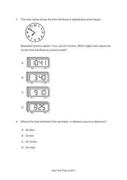 3rd Grade STAAR Multiplication and DIvision (lessTestprep.com)