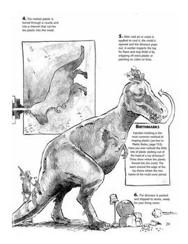 3rd Grade STAAR Procedural Reading Passage Short - Plastic Dinosaurs
