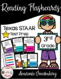 3rd Grade STAAR Reading Academic Vocabulary Flashcards