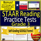 3rd Grade STAAR Test Prep Practice  - Reading Passages and Questions