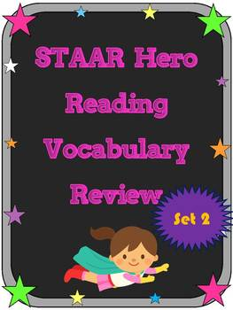 3rd Grade STAAR Reading Vocabulary Review Set 2