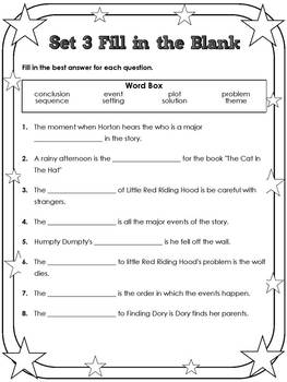 3rd Grade STAAR Reading Vocabulary Review Set 3