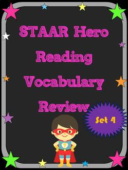 3rd Grade STAAR Reading Vocabulary Review Set 4