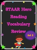 3rd Grade STAAR Reading Vocabulary Review Set 5
