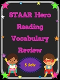 3rd Grade STAAR Reading Vocabulary Review Super Mega Bundle 10% Discount