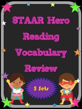 3rd Grade STAAR Reading Vocabulary Review Super Mega Bundl