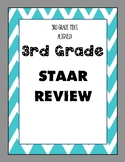 3rd Grade STAAR Review - 10 Assessments - TEKS Aligned!