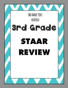 3rd Grade STAAR Review - 10 Assessments - TEKS Aligned!