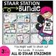 3rd Grade STAAR STATION 2: EQUIVALENT FRACTIONS ~ TEKS 3.3F ~ Math Center