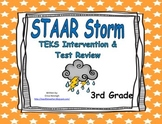 3rd Grade STAAR Storm Intervention & Test Review