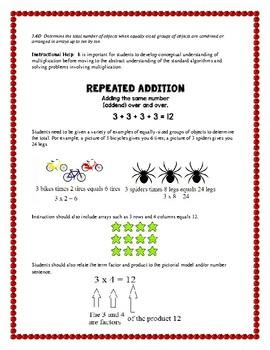 3rd Grade STAAR/TEKS-aligned multiplication and division