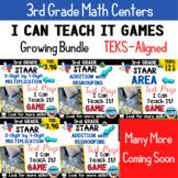 3rd Grade ★ STAAR ★ Test Prep Games -I Can Teach It! BUNDLE