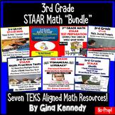 3rd Grade STAAR Math Test-Prep Product Bundle