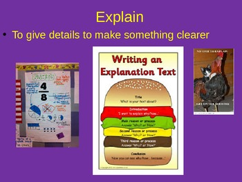 3rd Grade STAAR Reading Academic Vocabulary Review #2