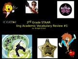 3rd Grade STAAR Reading Academic Vocabulary Review #1