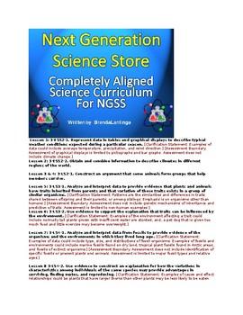 3rd Grade Science Bundle: Handouts