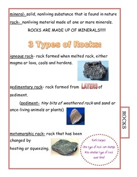 3rd Grade Science CRCT Study Guide