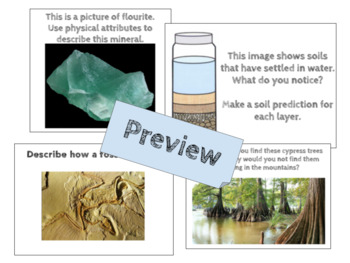 3rd Grade Science Document Based Questions