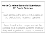 "3rd Grade Science Essential Question ""I Can"" Cards (North Carolina)"