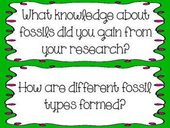3rd Grade Science Essential Questions