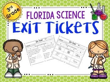 3rd Grade Science Exit Tickets