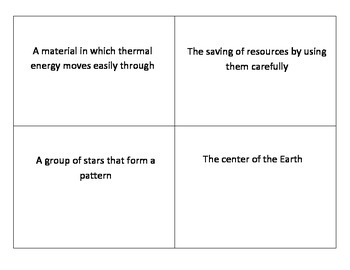 3rd Grade Science Flash Cards