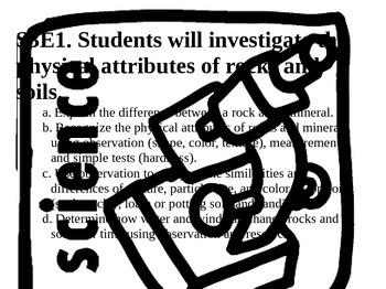 3rd Grade Georgia Science GPS Standards for Posting