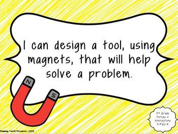 3rd Grade Science I CAN Statements