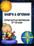 3rd Grade Science Interactive Notebook: Space - Stars & Gravity