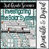3rd Grade Science: Investigating the Solar System / Printa