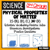 3rd Grade Science  - Properties of Matter - 3.5ABCD TEKS