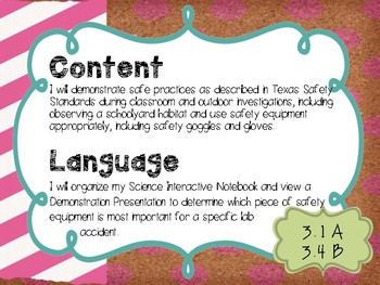 3rd Grade Science Objectives TEKS based. #toocute Classroom Theme