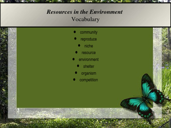 3rd Grade Science: Resources in the Environment