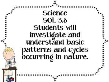 3rd Grade Science SOL Objectives