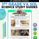 3rd Grade Science VA SOL STUDY GUIDES