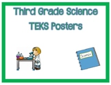 3rd Grade Science TEKS I Can Posters