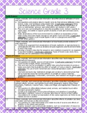 3rd Grade Science and Social Studies Standards Reference