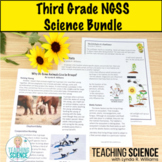 3rd Grade NGSS Science Lesson Bundle NGSS and CCSS Aligned