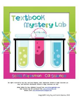 3rd Grade Scott Foresman CA Science Textbook Mystery Lab
