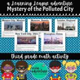 3rd Grade September Math Adventure- Mystery of the Polluted City