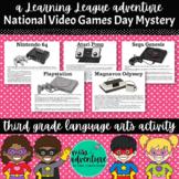 3rd Grade September Reading Adventure- National Video Game