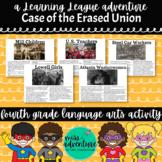 4th Grade September Reading Adventure- The Case of the Era