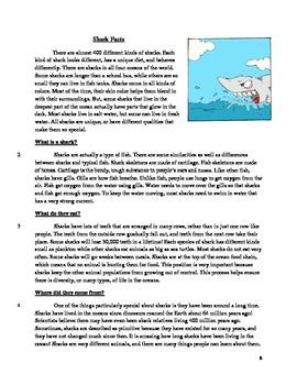 3rd Grade Short Answer Response Test Prep