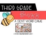 3rd Grade Sight Word BUZZ