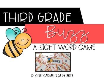 3rd Grade Sight Word BUZZ