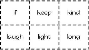 3rd Grade Sight Word Flash Cards