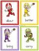 3rd Grade Sight Word Flashcards - Football