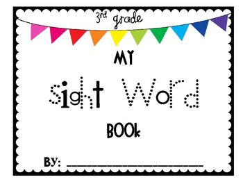 3rd Grade Sight Word Pack - with Power Point Practice Game!