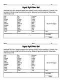 3rd Grade Sight Word Tests for Whole Year