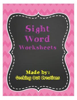 3rd Grade Sight Words